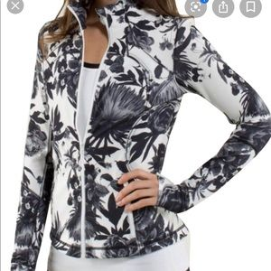 Lululemon forme floral brisk bloom jacket